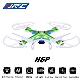 Megadream-JJRC-H5P-Gyro-24-Telecontrol-3D-Roll-6-Axis-Grop-RTF-Drone-LED-Lights-Headless-Mode-20MP-HD-Camera-4-Channel-360-Flip-Automatic-Return-1100mAh-RC-Quadcopter