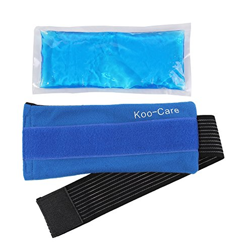 Koo Care Flexible Gel Ice Pack Amp Wrap With Elastic Strap