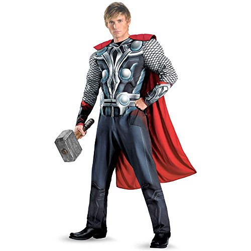 The Avengers: Thor Movie Muscle Plus Size Costume - 50-52