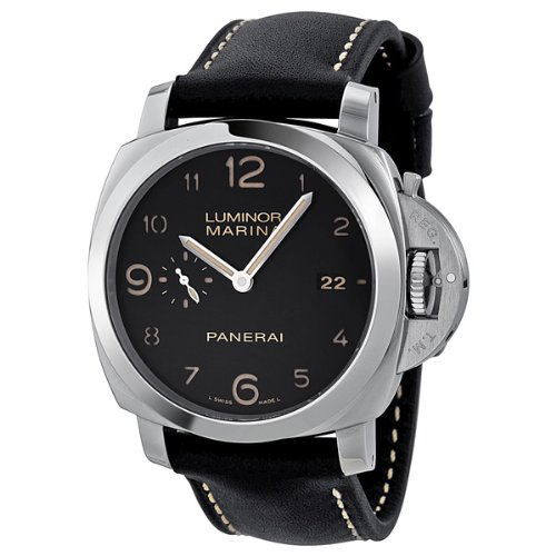 Panerai Luminora Marina 1950 Black Dial Automatic Mens Watch PAM00359