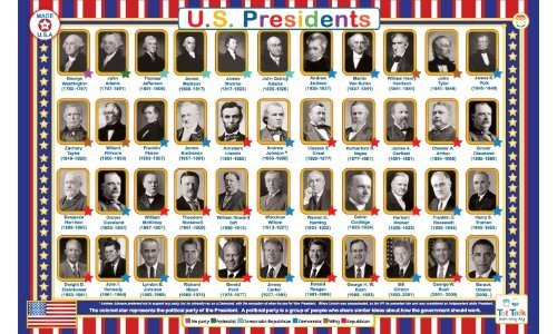 United States Presidents Placemat - 1