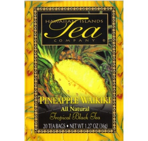 Hawaiian Value Pack Islands Tea Pineapple Waikiki 2 Boxes