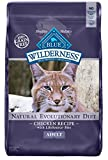 Blue Buffalo Wilderness Grain Free Dry Cat Food, Chicken...