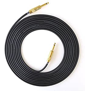 death valley cable 39 s best handmade 20 ft guitar cable gold straight to straight g. Black Bedroom Furniture Sets. Home Design Ideas