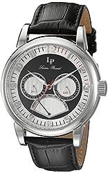Lucien Piccard Men's LP-15051-02S Analog Display Quartz Black Watch