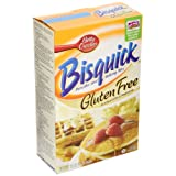 Bisquick Pancake and Baking Mix, Gluten-Free, 16-Ounce Boxes (Pack of 3) ~ Betty Crocker Baking