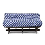 Hometown Sofa cum Bed with mattress (Matt Finish, Blue)