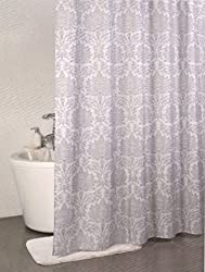 Linenwalas PVC Designer Bathroom Shower Curtain(72