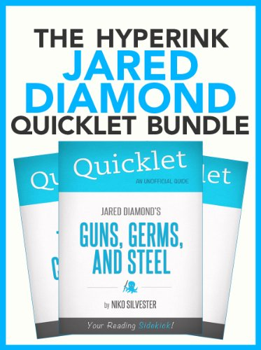 an analysis of jared diamonds epilogue of guns germs and steel Guns, germs and steel: the fates of human societies jared diamond new  this approach distances diamond's analysis from much of the current literature on cultural interactions in modern history - indeed, his suggestions for further reading omit almost all of the standard literature on the history of imperialism and post-colonialism, world.