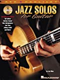Jazz Solos For Guitar Partitions CD pour Guitare Tablature Guitare