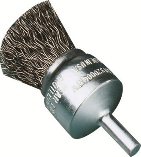 United Abrasives/SAIT 06712 2-Inch by .014 Crimp Wire End Brush, 1-Pack