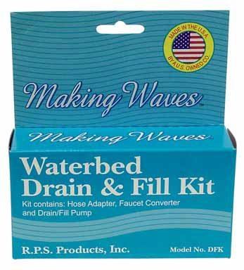 RPS PRODUCTS DFK Waterbed Drain/Fill Kit - 1