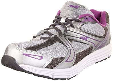 AVIA Women's A5643W,Chrome Silver/Metallic Steel Grey/Metallic Baja Purple,6.5 B US