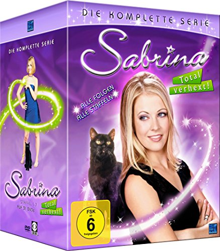 Sabrina - Total verhext! - Gesamtbox (Staffel 1-7) [31 DVDs] (exklusiv bei Amazon.de)