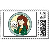 Daria: Daria Skull Postage