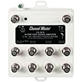 Channel Master CM3418 8-Port Distribution Amplifier for Cable and Antenna Signals