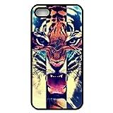 Zeimax® UV Case for iPhone 5 5S - Tiger Roar Cross Hipster