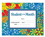 Student of the Month Award Certificate (0742403319) by School Specialty Publishing