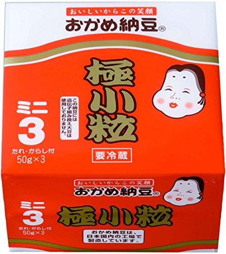 タカノフーズ おかめ納豆極小粒ミニ 3納豆150g[冷蔵]