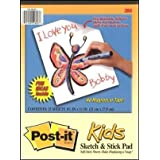Brand New Post-it � Sketch And Stick Pad For Kidsby 3M