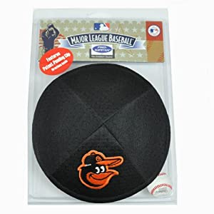 MLB Baltimore Orioles Clip Pro Kippah Kippa Yamaka Jersey Mesh Licensed Yarmulke by Emblem Source