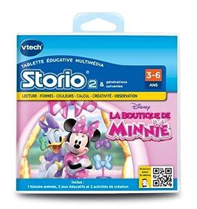 Vtech - 231705 - Storio 2 et générations suivantes - Jeu éducatif - La Boutique de Minnie