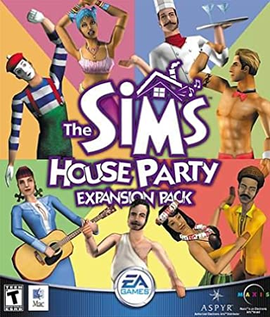 The Sims House Party Expansion Pack ( Mac )