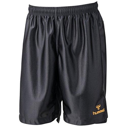 (Hummer) hummel practice pants 9038 HAP2024 black x Gold L