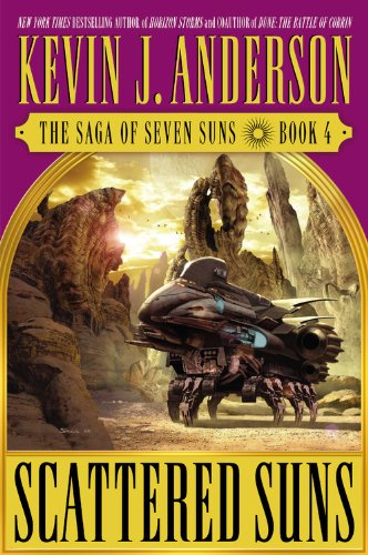 Scattered Suns (The Saga of Seven Suns, Book 4)
