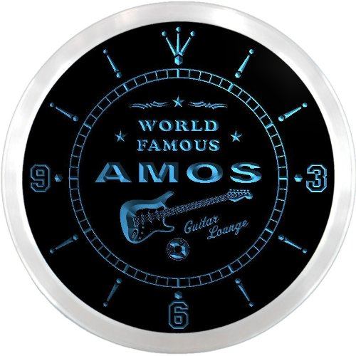 ncpf0469-b-amos-famous-guitar-lounge-beer-pub-led-neon-sign-wall-clock