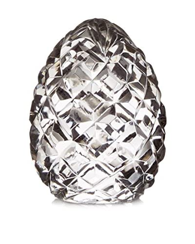 Go Home Cut Crystal Egg, Clear