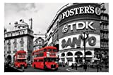 Empire 329967 'London Piccadilly Circus' Colourlite Poster 91.5 x 61 cm