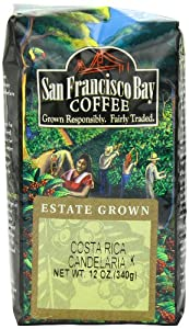 San Francisco Bay Coffee Whole Bean, Costa Rica, 12 Ounce