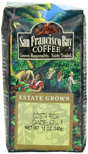 San Francisco Bay Coffee Whole Bean Costa Rica Coffee, 12-Ounce Bag