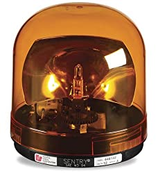 Federal Signal 448112-02 Sentry Halogen Beacon, Class 1, CAC Title 13, Permanent Mount with Amber Dome