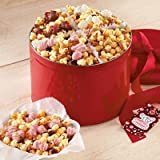 Harry and David Valentines Day Moose Munch Popcorn Gift Tin