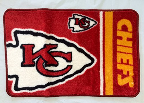 ''The Northwest Company Kansas City Chiefs Bath Rug Door Mat NFL Licensed 20'''' x 30''''''