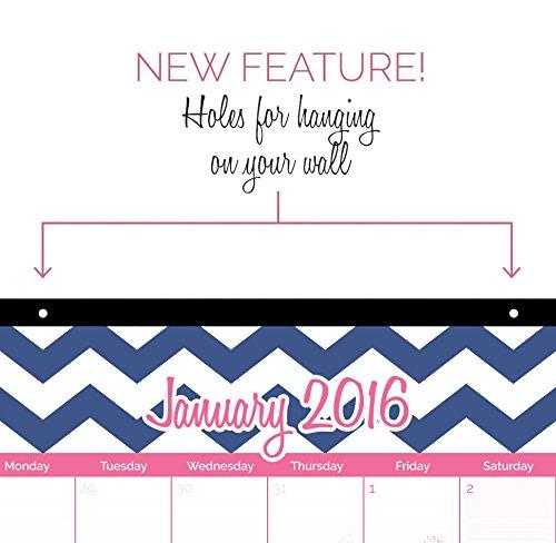 2016 Calendar Year Desk Pad: January 2016 to December 2016 Office