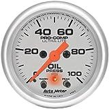 Auto Meter 4352 Ultra-Lite Electric Oil Pressure Gauge