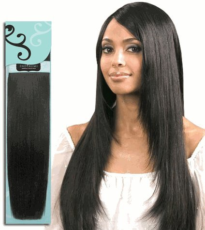 Bobbi-Boss-14-Inches-Indi-Remi-Premium-Virgin-Human-Hair-Extension-Weave-SILKY-Texture-Color-1-Jet-Black