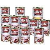 Rinti Kennerfleisch Hundefutter Mix Paket 12 x 400g Dose