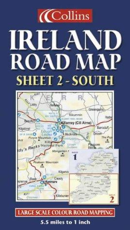 Ireland Road Map: South Sheet 2 PDF