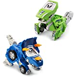 VTech Switch & Go Dinos - Animated Dinos 2-pack with Sliver and Horns