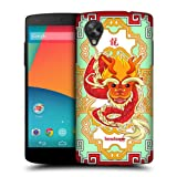 Head Case Dragon Zodiac Animal Hard Back Case Cover For Lg Google Nexus 5 D821