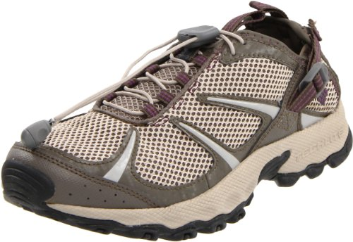 Columbia Sportswear Women's Outpost Hybrid 2 Water Shoe,Oxford Tan/Wood Violet,8 M US