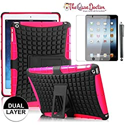 All brand name ipad and tablet ipad tablet ebook reader compare tcd ipad mini mini 2 retina hot pink armor hybrid defender shield case dual layer greentooth Gallery