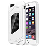 iPhone 6 Plus Case - WAWO Sport Luxury Fashion [ Carbon Fiber Trim ] TPU + PC Double Protection Shell for Apple iphone 6+ 5.5