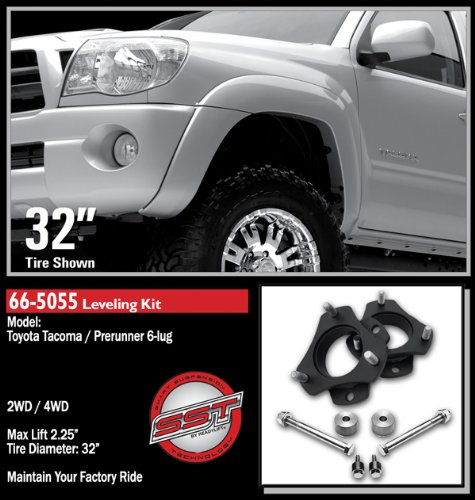 Ready Lift 66-5055 05-10 Toyota Tacoma 2WD & 4WD, 6-Lug 2.25