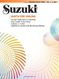 Shinichi Suzuki Duets for Violins