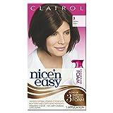 Clairol Nice'n Easy Colour Blend Foam Permanent Hair Colour - Darkest Brown 3